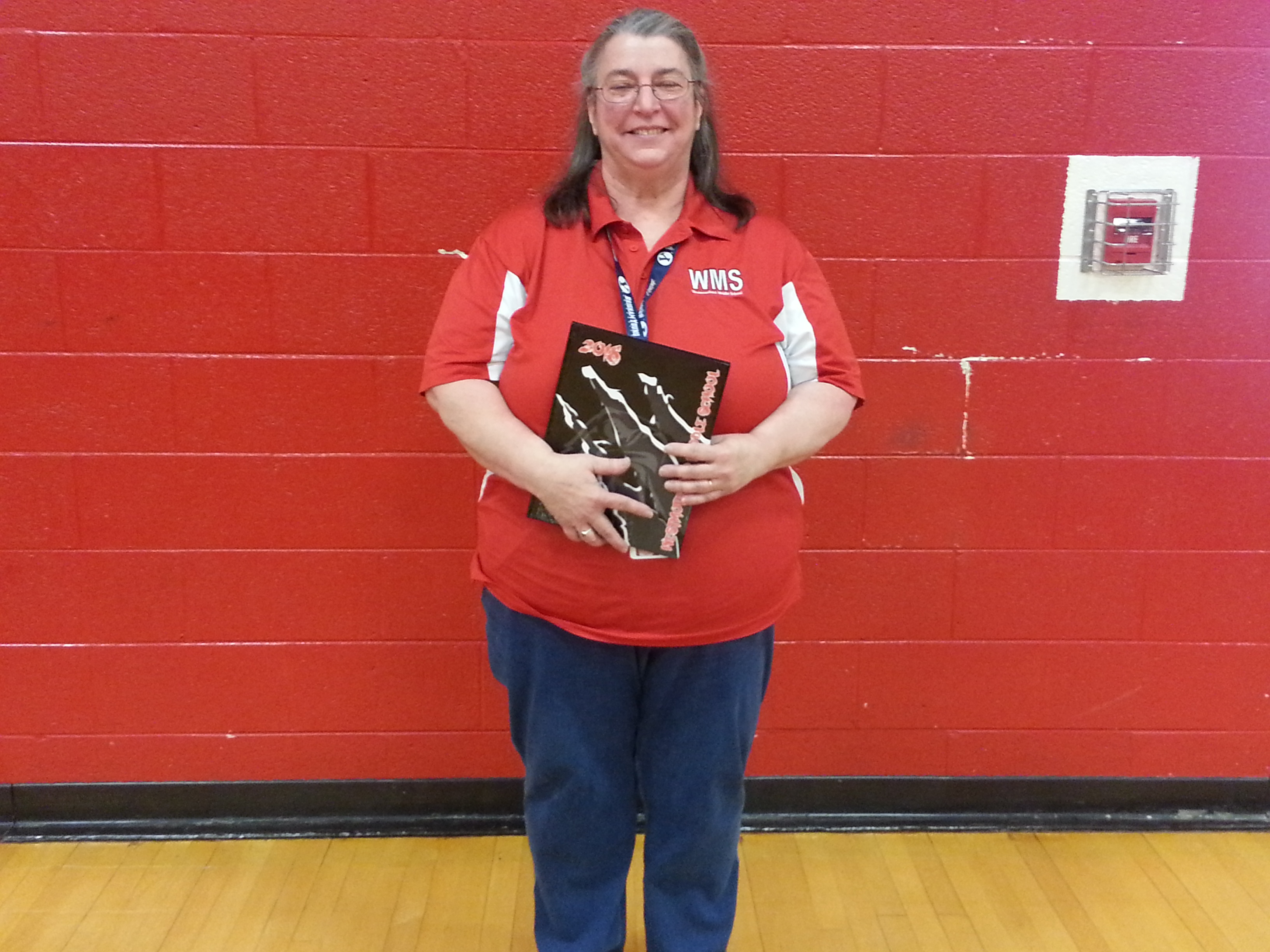 This Year The WMS Yearbook ... was dedicated to Mrs. Beth Hickey, WMS Choir and Music Teacher.  (05/09)
