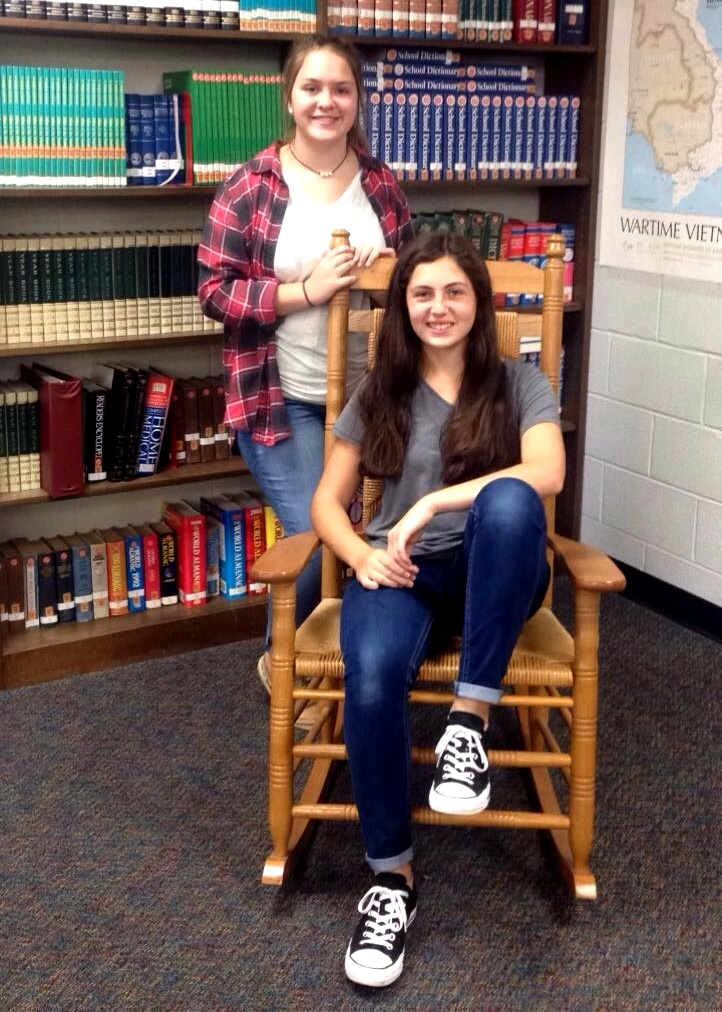 8th Grade Library Workers